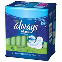 *HOT* $2/1 Always Coupon (First 15,000) on http://www.icravefreebies.com