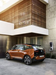 So the car is ok, but really I want the house. Just sick modern style house.     BMW I3 CONCEPT COUPE