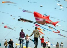 Hmmm... where to celebrate the winter solstice in the world? Perhaps a kite festival in India?