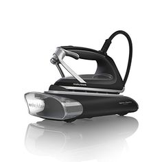 Redefine ATOMiST Vapour Iron 360001 Morphy Richards Now there's a new way to iron; our innovative ATOMiST vapour iron with patented thermoglass and vapour mist technology. Steam Works, Steam Generator Iron, How To Iron Clothes, Steam Iron, Black Glass, Home And Garden, Home Appliances, Electric, Sustainable Energy