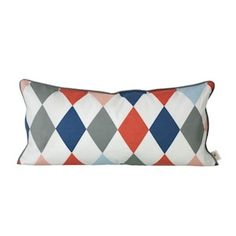 FERM LIVING - HAPPY HARLEQUIN, Cushion for kids