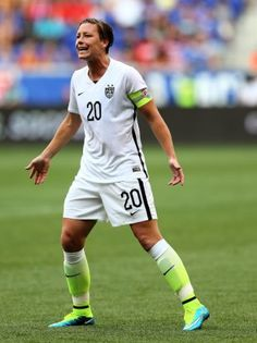 USWNT must move forward with Abby Wambach on the bench By Graham Watson  June 10, 2015 2:39 PM FC Yahoo HARRISON, NJ - MAY 30: Abby Wambach #20 of United States reacts in the second half against the South Korea during an international friendly match at R...