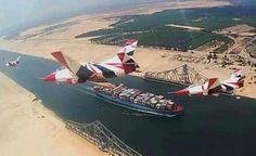 New Suez canal...EGYPT
