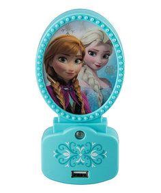 Another great find on #zulily! Frozen Elsa & Anna Night Light #zulilyfinds