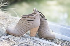 Strappy Booties | 3 Colors