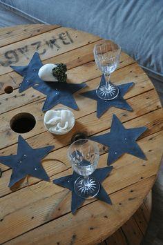 Dessous-verre étoile