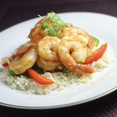 Orange Chipotle Shrimp - chipotle peppers, orange juice and cilantro tantalize the taste buds in this zesty shrimp dish.