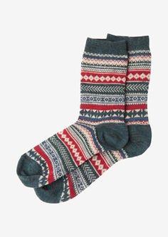 c0261a0e459 Fair Isle Seamless Wool Sweater