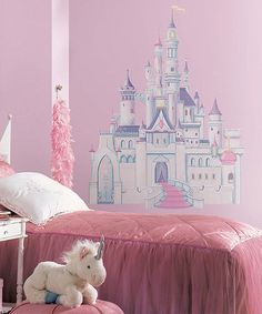 Take a look at this Princess Castle Giant Wall Decal Set by Disney on #zulily today!