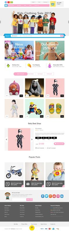 Fiora – Responsive #eCommerce Bootstrap #Template is is fitted with 2 home page…