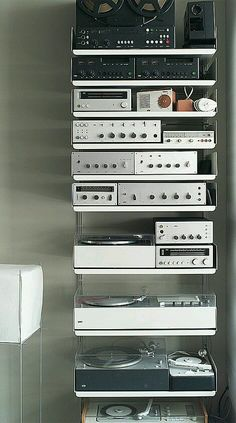 Braun | Yes, nothing was small back then. It took a rack like this to be state of the art.