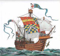 warwick cog sailing ship - Google Search
