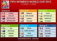 women's world cup canada schedule - Google Search