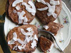 Placuszki bananowe bez glutenu z kokosem