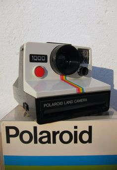 Always wanted a polaroid. But I think I won't be taking photos too easily.