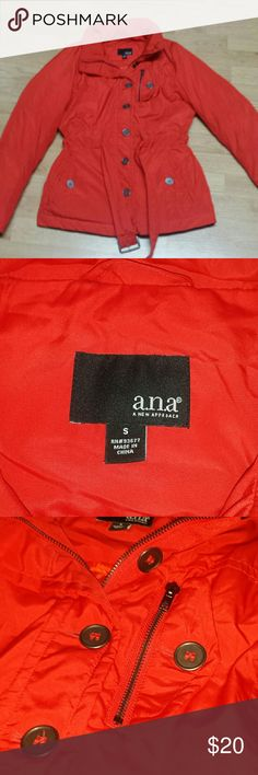 Warm coat Very warm not too bulky. . .  Very stylish with belt for slimming fit. ana Jackets & Coats Puffers