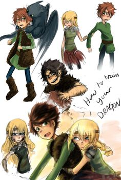 HTTYD : What can you do by DarkHalo4321.deviantart.com on @deviantART