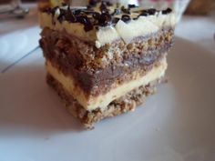 Prajitura cu crema de vanilie si mascarpone Nutella, Tiramisu, Ethnic Recipes, Mascarpone, Tiramisu Cake