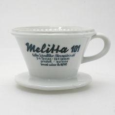 1930 / 40s Melitta 101 Porzellanfilter | SOLD | www.cyan74.com - vintage & pop culture