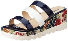 Lavie Women's Navy Slippers-3 UK/India (36 EU)(8200 Sliponspon) Womens Slippers, Cheap Sandals, Fashion Slippers, Navy Women, India, Shoes, Self, Goa India, Zapatos