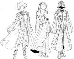 Résultats de recherche d'images pour «tuto draw a robe»