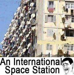 An #international #space station.