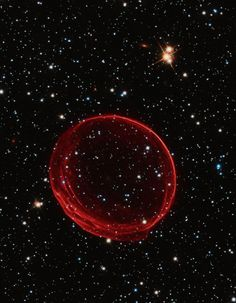 weareallstarstuff: The Rippled Red Ribbons of SNR 0509