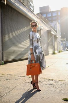 Atlantic-Pacific: cloud stompers--- this is a very pretty dress, love the cloud print