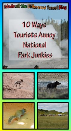 With all the tourist incidents in national parks recently, I think everyone should read this list.