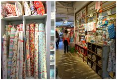 Fabric + Shopping in London - Diary of a Quilter - a quilt blog