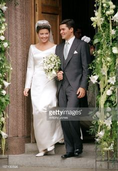 The Wedding Of Princess Alexia Of Greece And Carlos Morales Quintana At The St. Sophia Cathedral In London.