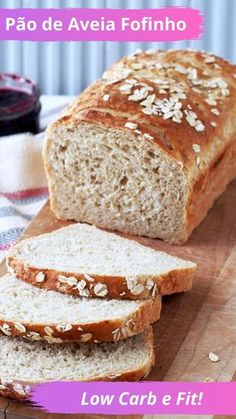"Leftover Oatmeal Bread is a fantastic way to repurpose extra oatmeal. It's so good that you're liable to ""accidentally"" make extra oatmeal more often! Antipasto, Tapas, Bread Recipes, Cooking Recipes, Oatmeal Bread, Yeast Rolls, Egg Wash, Instant Yeast, Polenta"