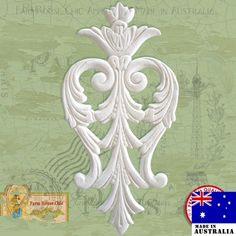 Decorative Furniture Crest Very Fine Detail Size Each