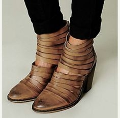 My new shoes... Free people!