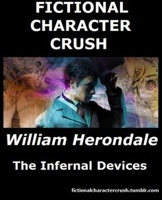 #2 - William Herondale from Infernal Devices fictional character crush out of 100