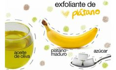 Exfoliante de plátano