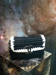 CHANEL Crochet bag !!