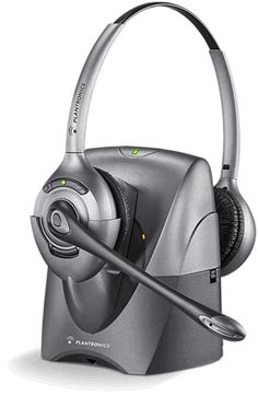 Superior sound quality clarifies and enhances customer communications The Plantronics CS361N SupraPlus� Wireless Professional Headset System lets office employees answer or end calls while away from their desk phone�in unmatched comfort and with best-in-class audio quality.