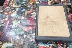 Dust Free Sanding Using a Storage Container : 15 Steps (with Pictures) - Instructables Easy Woodworking Projects, Woodworking Jigs, Carpentry, Diy Sanding, Painters Tape, Vacuum Forming, Masking Tape, Storage Containers, Easy Diy