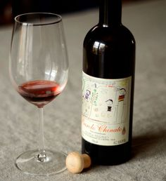 Barolo Chinato is a wine from the Piedmont region of Italy - good with dessert