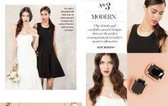 Style Me Pretty + BaubleBar - picks for a Modern Wedding #BBWeddings #stylemepretty