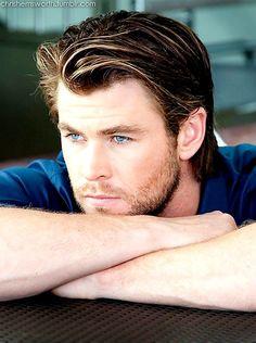Chris Hemsworth <3 Omg! He's So beautiful <3<3<3<3