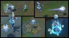Orianna merveille hivernale est prête à valser | League of Legends