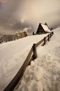 Dolomiti,Italy, Giau pass to Cortona , province of Belluno , Veneto region Italy,