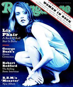 1994 Liz Phair on RollingStone magazine Rolling Stone Magazine Cover, Liz Phair, Kim Gordon, Chrissie Hynde, Joan Jett, Robert Redford, Vintage Magazines, Vintage Books, Rolling Stones