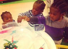 #brothers #triplets #triplethreat #littleboyswithbraids #boyswithbraids #littlefashionista #teamwork #teamworkmakesthedreamwork