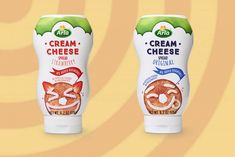 There's Squeezable Cream Cheese on the Market, And We Didn't Know We Could Be This Excited Strawberry, Packaging, Cheese, Marketing, Cream, Recipes, Food, Products, Meal