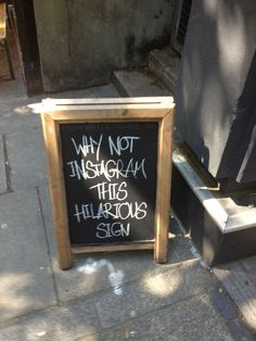 This sign that is so sarcastic that it's actually working against itself.   The 28 Greatest Moments In The History Of Sarcasm