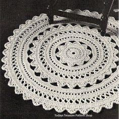 Captivating Doily Rug Crochet PDF Pattern