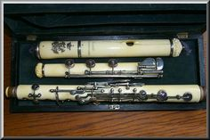All ivory flute